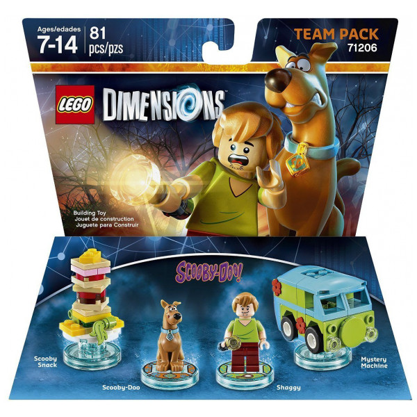 Warner Home Video Lego Dimensions Team Pack - Scooby Doo från Warner home video