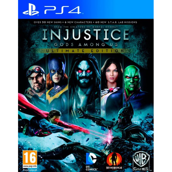 Warner Home Video Tv-Spel Injustice Gods Among Us - Ultimate Edition från Warner home video