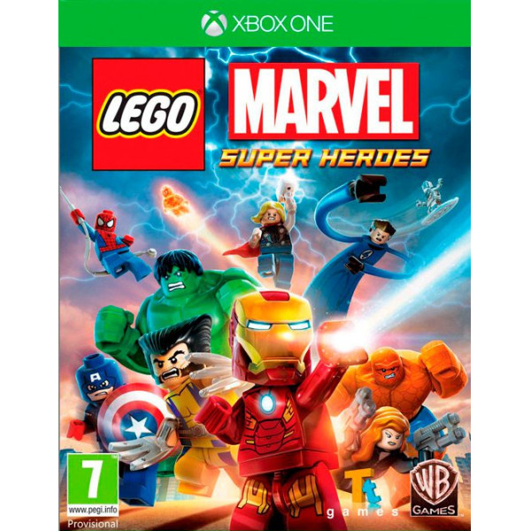 Warner Home Video Tv-Spel Lego Marvel Super Heroes från Warner home video