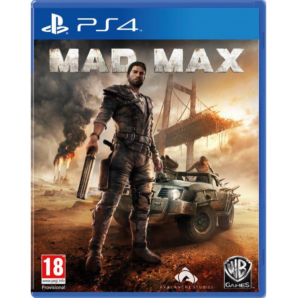 Warner Home Video Tv-Spel Mad Max från Warner home video