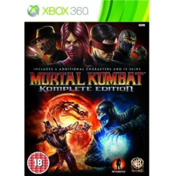 Warner Home Video Tv-Spel Mortal Kombat Komplete Edition från Warner home video