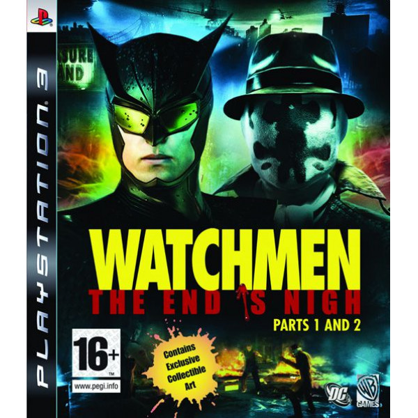 Warner Home Video Tv-Spel Watchmen The End Is Nigh från Warner home video
