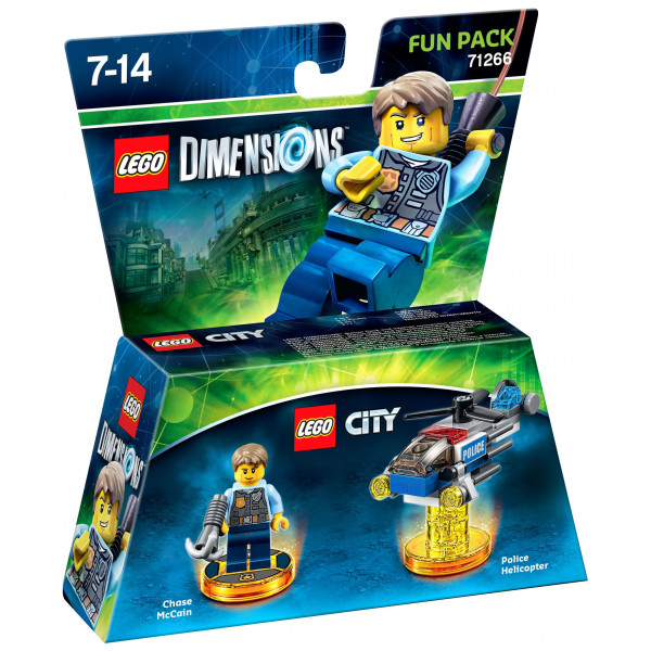 Warner Lego Dimensions Fun Pack - City från Warner