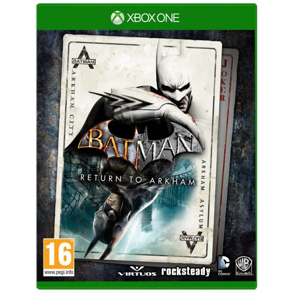 Warner Tv-Spel Batman Return To Arkham från Warner