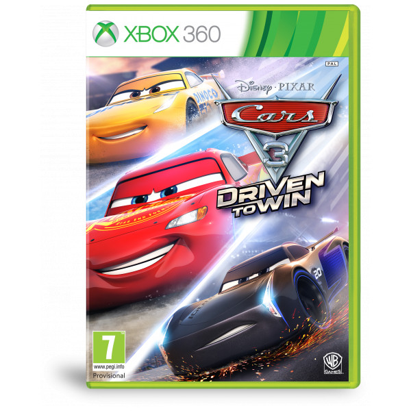 Warner Tv-Spel Cars 3 Driven To Win från Warner