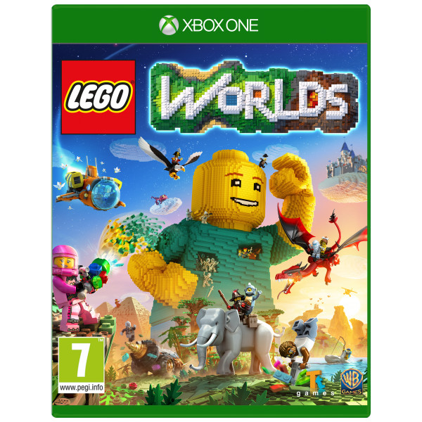 Warner Tv-Spel Lego Worlds från Warner