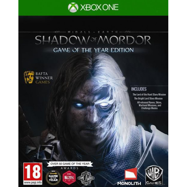 Warner Tv-Spel Middle-Earth Shadow Of Mordor - Game Of The Year Edition från Warner
