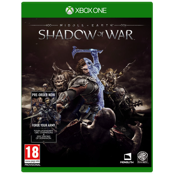 Warner Tv-Spel Middle-Earth Shadow Of War från Warner