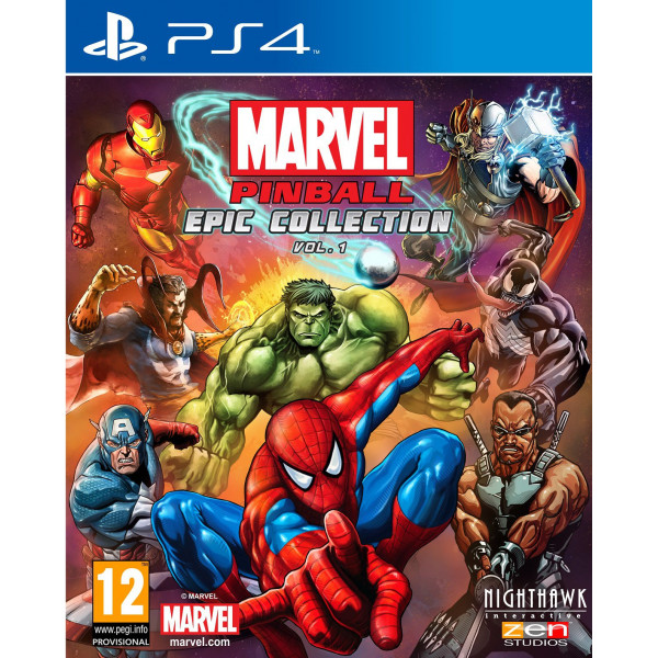 Wendros Tv-Spel Marvel Pinball Epic Collection Vol 1 från Wendros