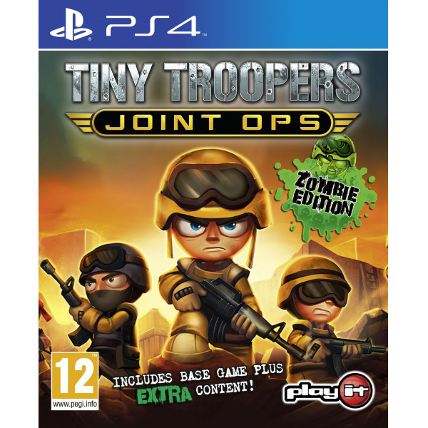 Wendros Tv-Spel Tiny Troopers Joint Ops Zombie Edition från Wendros