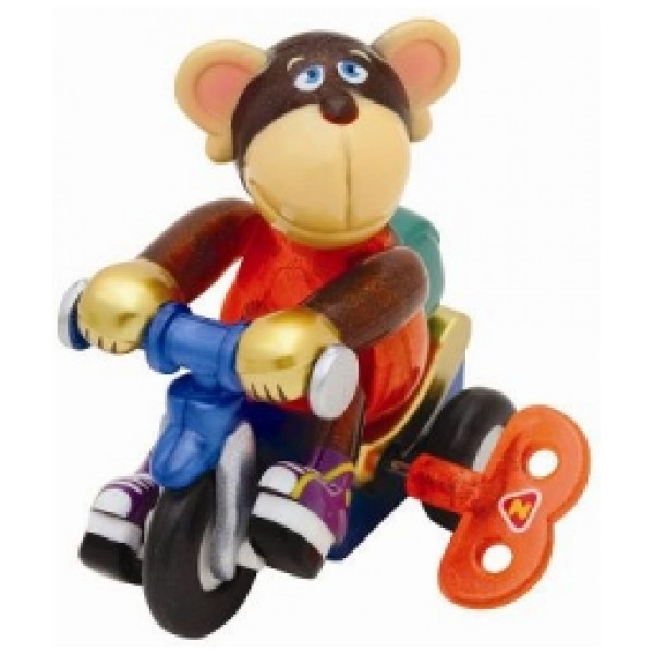 Windups Miniatyrfigur Bike Rider Monkey Moe från Windups