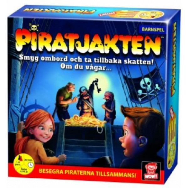 Wow Entertainment Sällskapsspel Piratjakten från Wow entertainment
