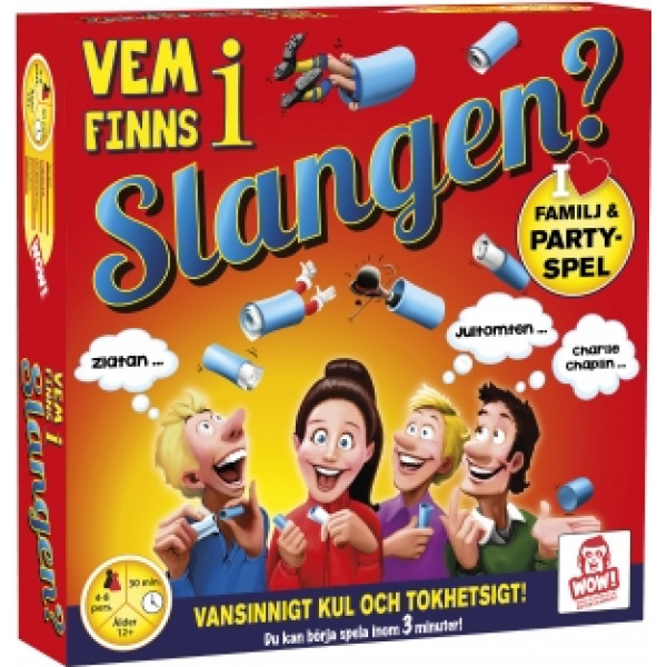 Wow Entertainment Sällskapsspel Vem Finns I Slangen från Wow entertainment