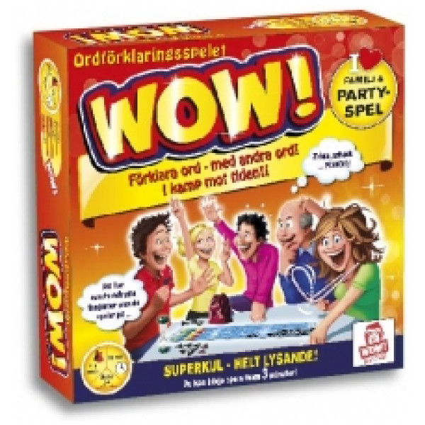 Wow Entertainment Sällskapsspel Wow - Ordförklaringsspelet från Wow entertainment