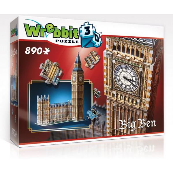Wrebbit Pussel 3D Puzzle - Big Ben 73 Cm från Wrebbit