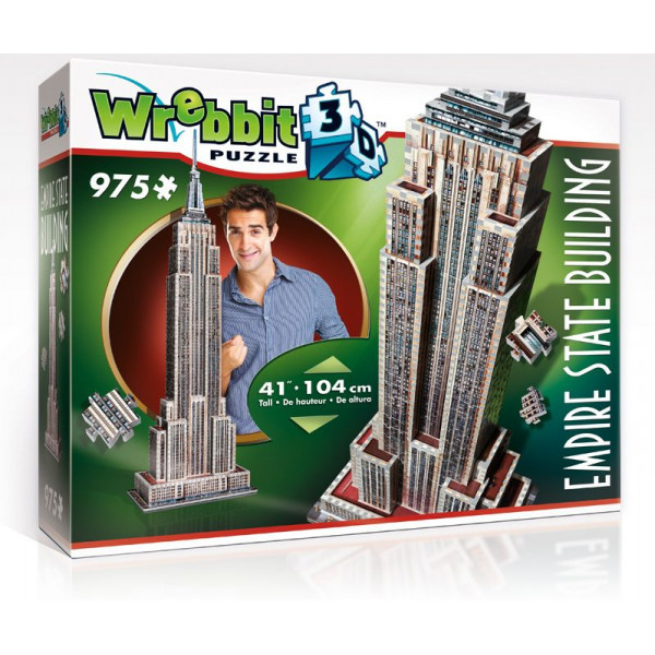 Wrebbit Pussel 3D Puzzle - Empire State Building 104 Cm från Wrebbit
