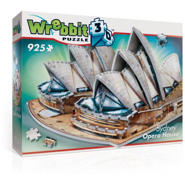Wrebbit Pussel 3D Puzzle - Sydney Opera House från Wrebbit